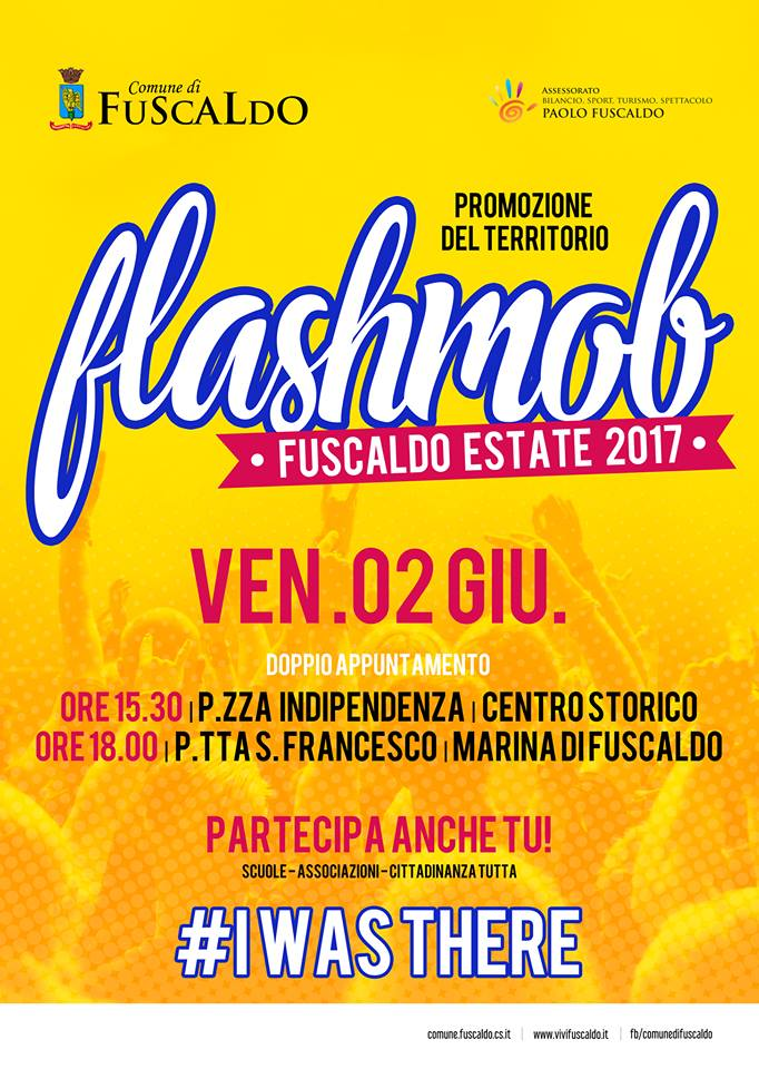 flashmob fuscaldo estate 2017